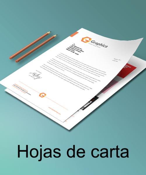 Impresión online de hojas de carta