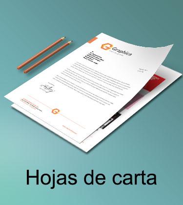 Imprimir papel de carta barato