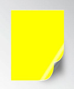 adhesivos neon y pegatinas fluorescentes