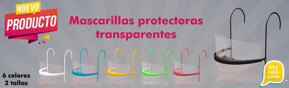 Mascarillas transparentes para sordomudos